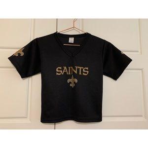 Saints Jersey Crop Top